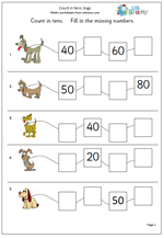count_on_in_tens_number_line_dogs