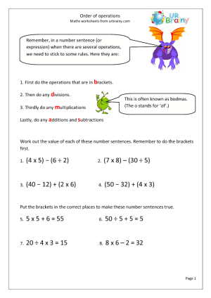 order-of-operations Maths Worksheets Year Addition on maths worksheets year 8, maths addition worksheet for 6 year olds, maths worksheets year 1, addition year 2, maths worksheets year 3, multiplication year 2,