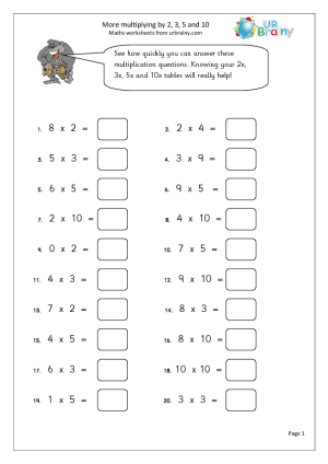 Maths Sheets For Year 3 - Laptuoso