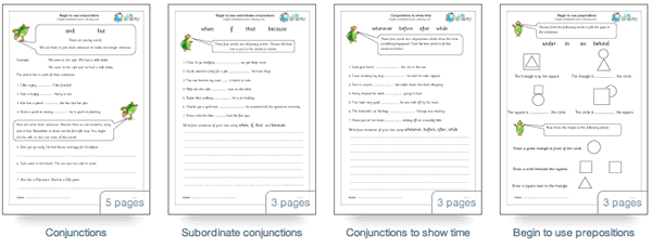 Conjunctions and prepositions URBrainy – Subordinate Conjunctions Worksheet