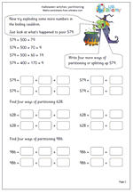 halloween witches partitioning