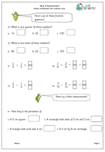 year 3 free assessment paper