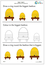 Reception shape and measure