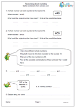 Reasoning about rounding