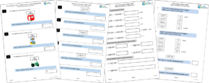 Number questions on the KS2 Maths Reasoning Papers